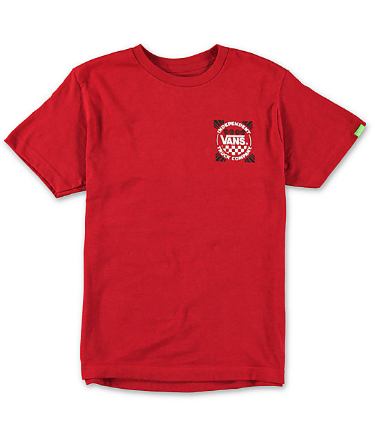 Vans Boys Indy Logo T-Shirt