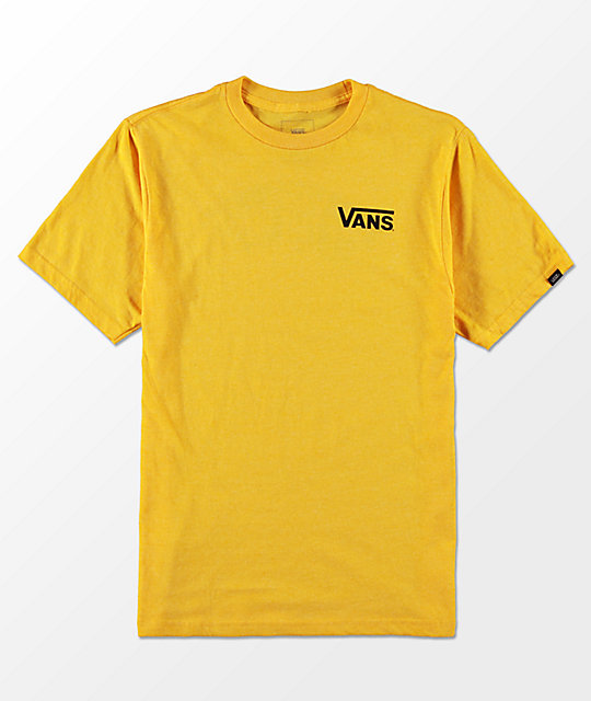 402dfe31b Vans Boys OTW Classic Heather Gold T-Shirt | Zumiez