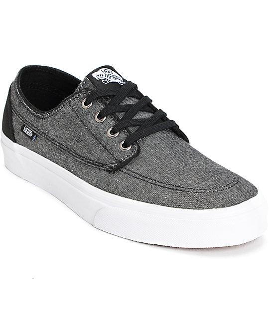 Vans Brigata (C&c) Blue Mens Shoes Outlet UK