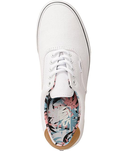 40846bbf5f ... Vans C F Era 59 True White Skate Shoes ...