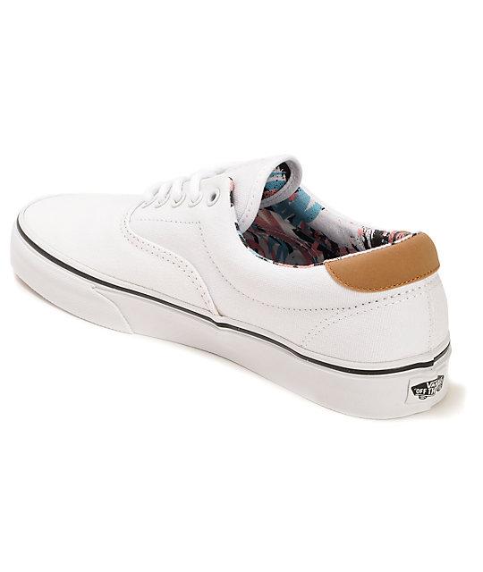 6039e2196f8 ... Vans C F Era 59 True White Skate Shoes ...