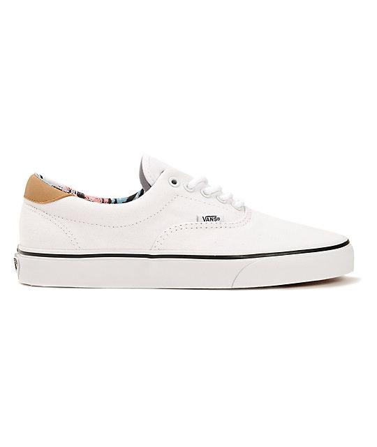 Vans C&F Era 59 zapatos blancos de skate (hombre)