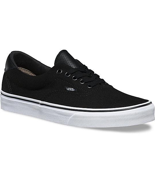 Vans C&P Era 59 Black & True White Shoes ...
