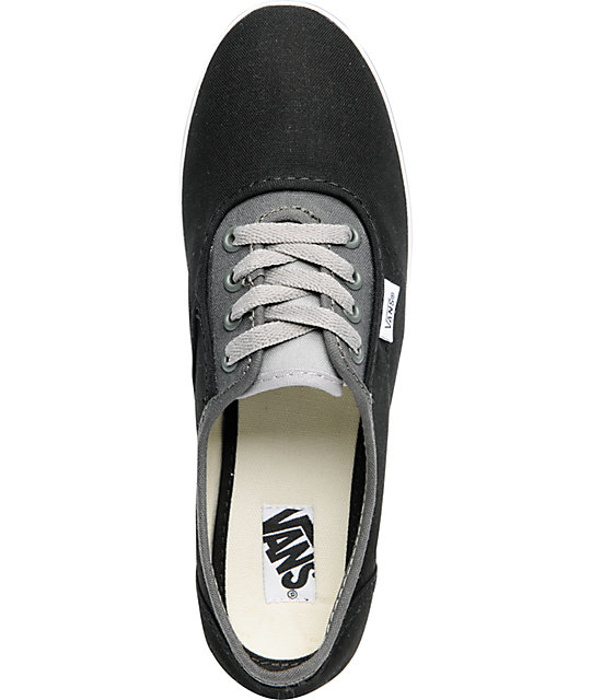 Vans Cedar Tri-Tone Black & Grey Shoes