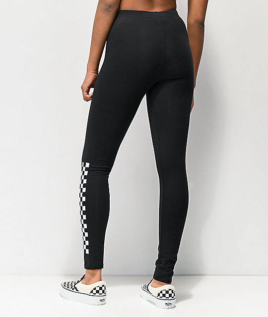 Vans Chalkboard II Black Leggings