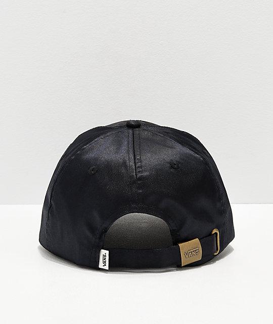 ... Vans Chamber Black Strapback Hat 5e549c90175