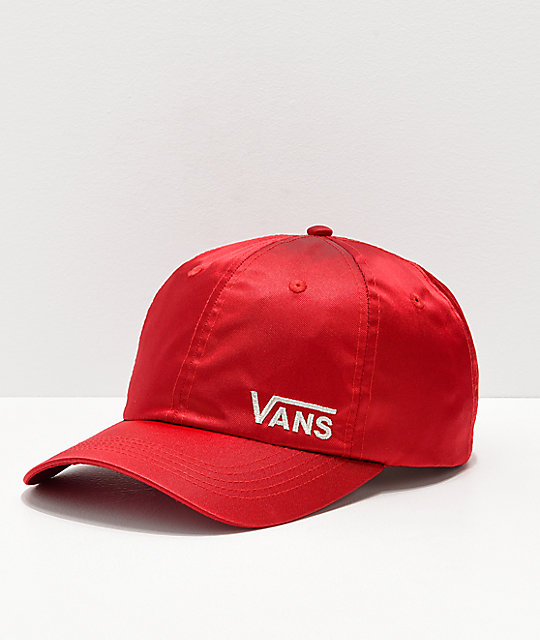 Vans Chamber Red Strapback Hat  8e4329bff9d