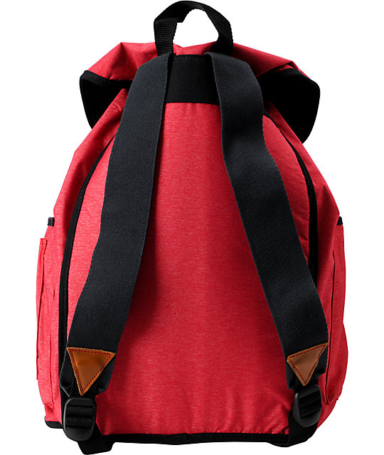 Vans Chambers Red Laptop Backpack