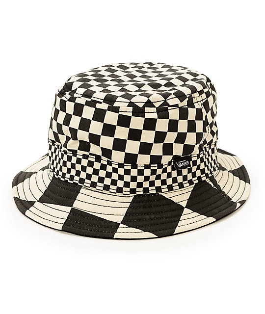 Vans Checker Reversible Bucket Hat  31e34e82000f