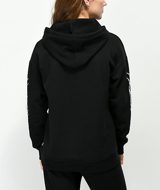 Vans Checkerboard Flame Black Hoodie