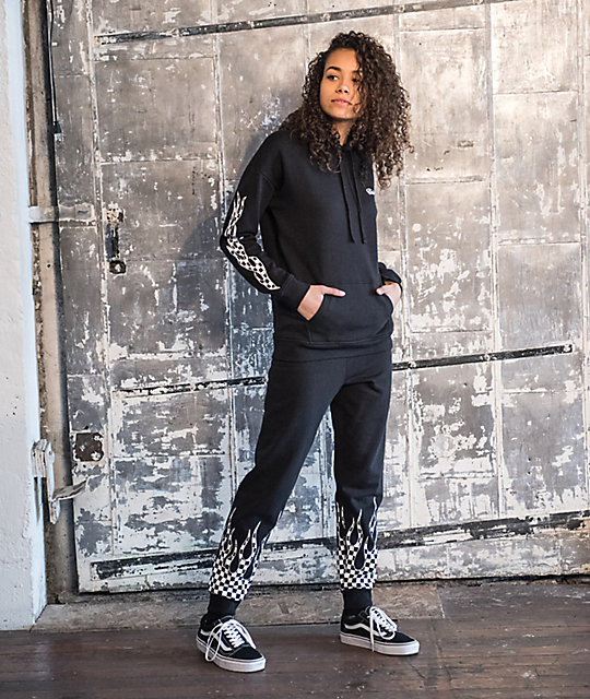 neue Stile neueste trends Top Qualität Outfits 10 Vans Flame Check Track Outfit and Backpack | Zumiez