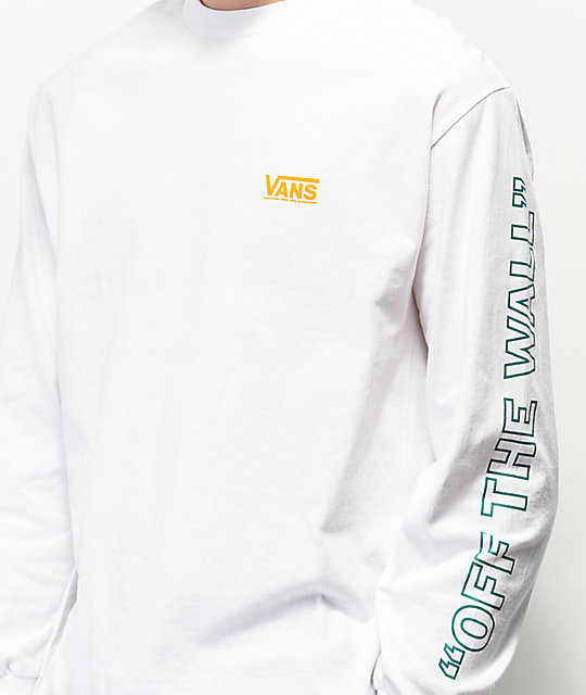 Vans Checkwork White Long Sleeve T-Shirt