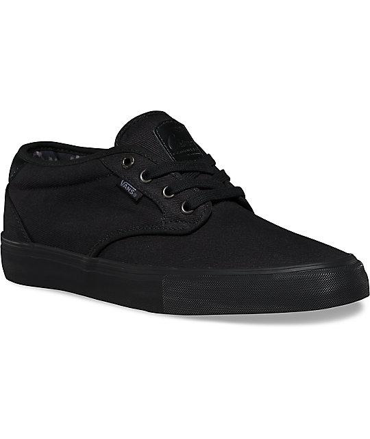 18a1caa4c7cecb Vans Chima Estate Pro Black   Black Shoes
