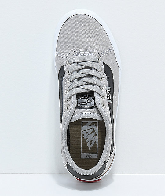 Vans Chima Pro 2 Drizzle & Black Skate Shoes