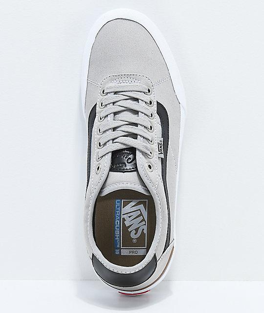 Y Chima En Drizzle De Skate Vans Pro 2 Zapatos Zumiez Negro Gris gwdqqzx f90ffb1686f