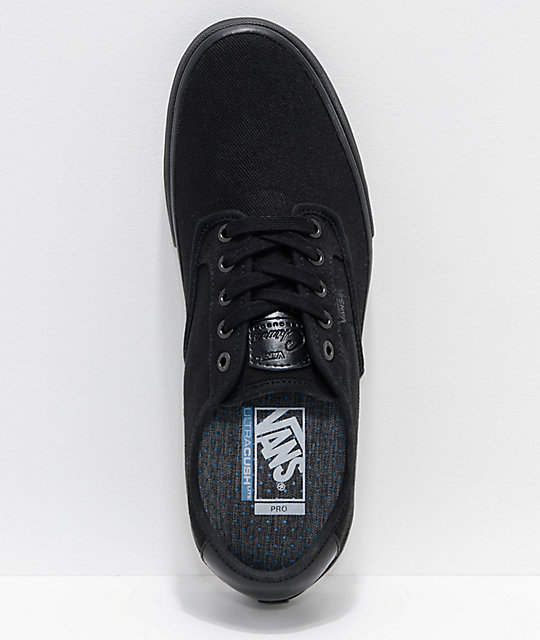 Vans Chima Pro Blackout Skate Shoes