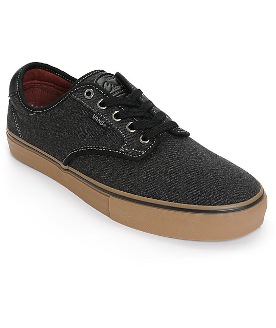 Vans Chima Pro Covert Twill Skate Shoes ...