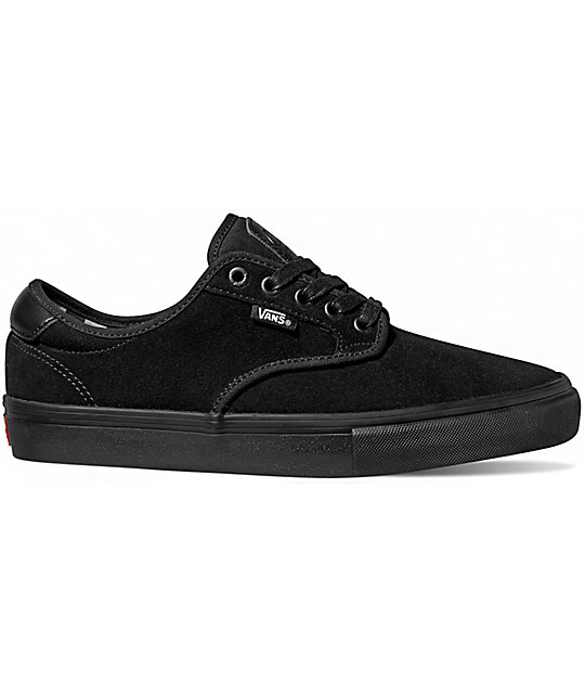 Vans Chima Pro Mono Black Shoes