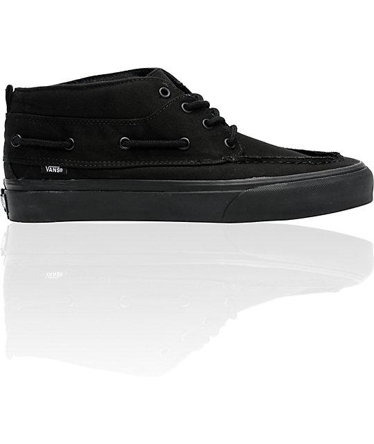 8aa851d81c2f Vans Chukka Del Barco Black Skate Shoes