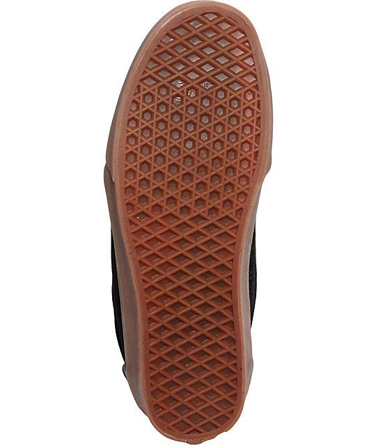 ef405d34a3 ... Vans Chukka Low Black   Gum Skate Shoes