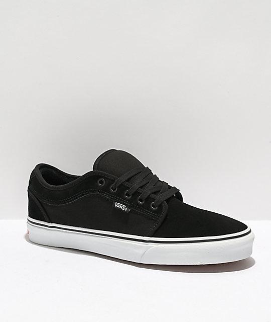 black vans chukka low