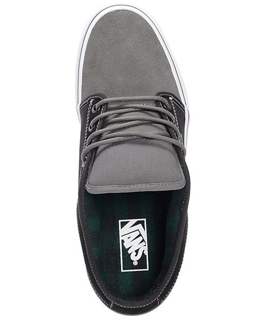 Vans Chukka Low Charcoal & Black Skate Shoes