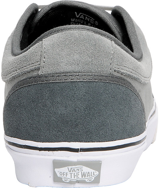 Vans Chukka Low Charcoal & Dove Skate Shoes