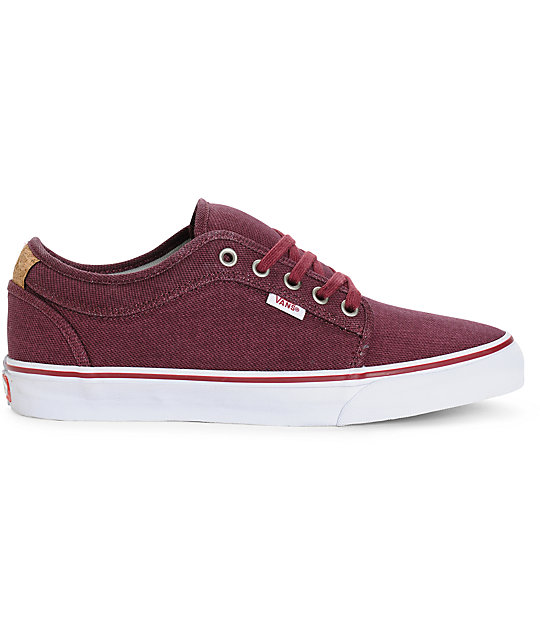 Vans Chukka Low Cork Skate Shoes