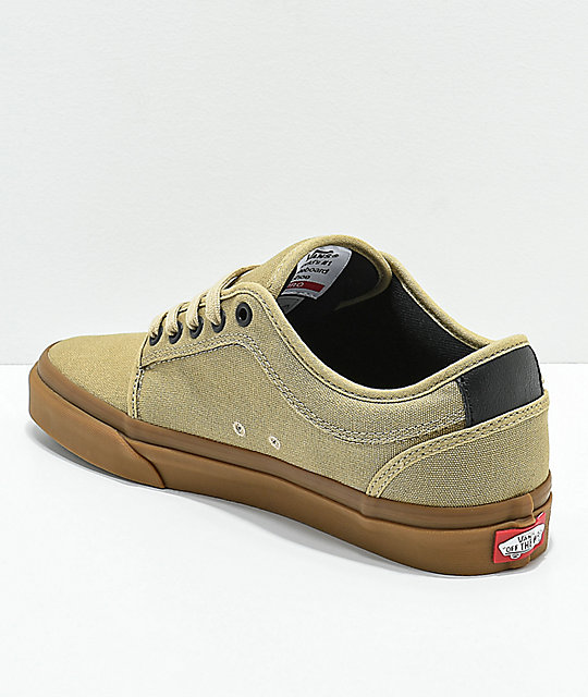 28f80b7878 ... Vans Chukka Low Cornstalk   Gum Skate Shoes ...