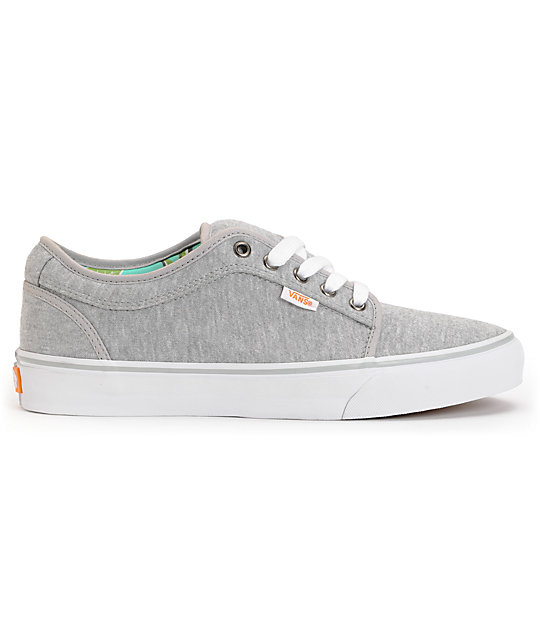 ... Vans Chukka Low Grey Jersey   Hawaii Mint Skate Shoes 260e5bf31