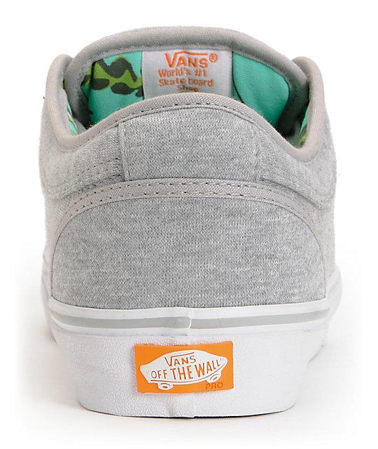 ... Vans Chukka Low Grey Jersey   Hawaii Mint Skate Shoes ... 1c41a0fa7
