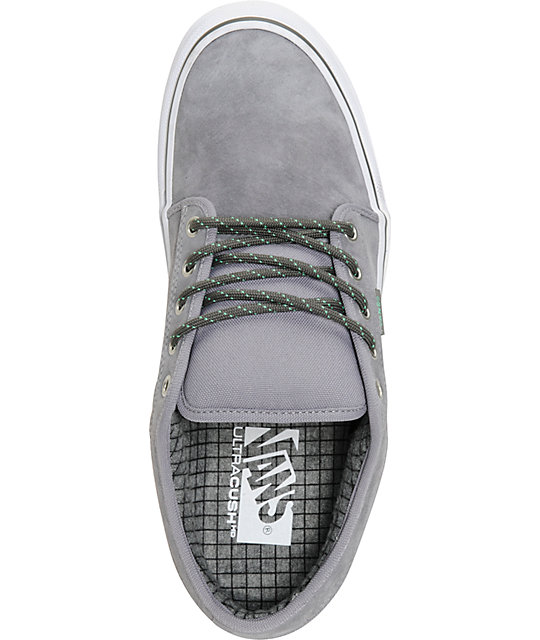 2eed2e4bc5 ... Vans Chukka Low Hiker Grey   Mint Suede Skate Shoes ...