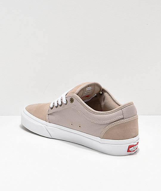 d09b46a82f ... Vans Chukka Low Humus   White Skate Shoes ...