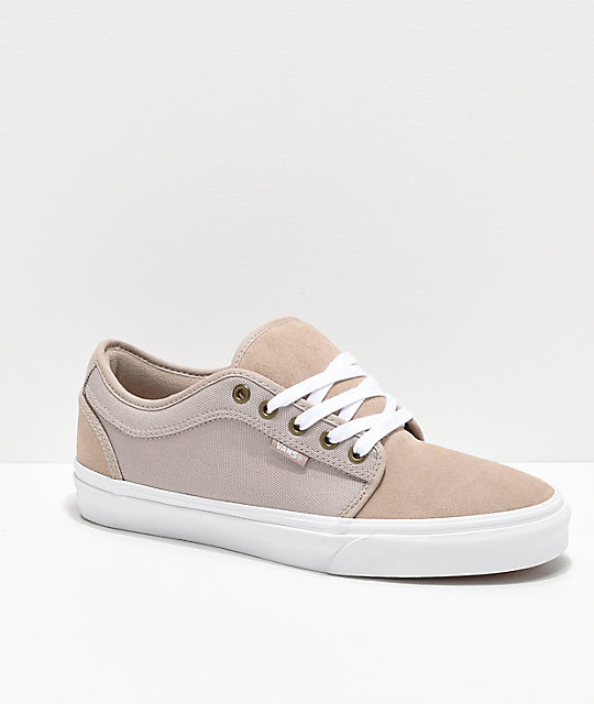 4c0ffe7b94 Vans Chukka Low Humus   White Skate Shoes