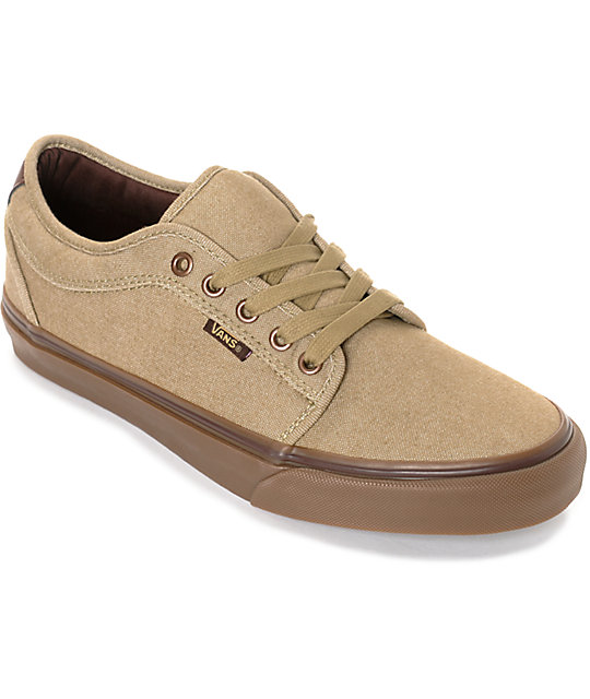Vans Chukka Low Oxford zapatos de skate en marrón y goma