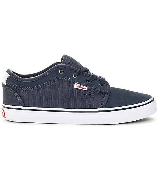 Vans Chukka Low Persian Night, White, & Red Kids Shoes