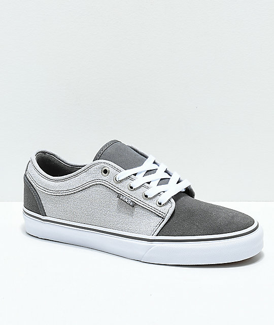 Vans Chukka Low Pro Pewter & Frost Grey Skate Shoes