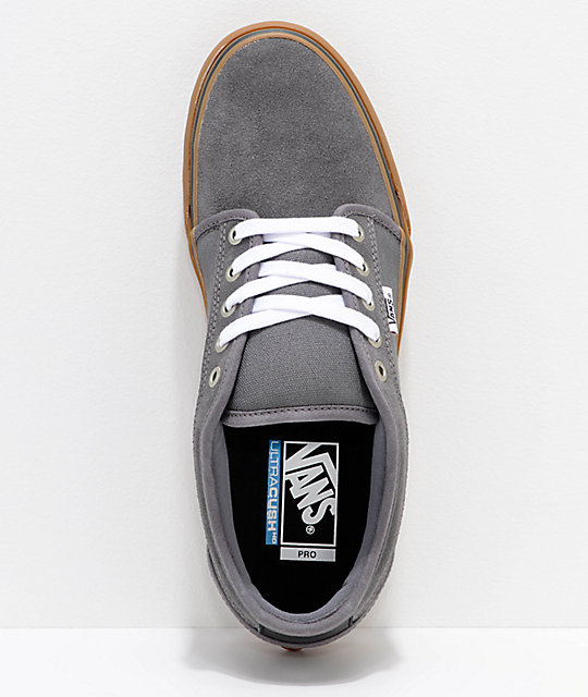 Vans Chukka Low Pro Pewter & Gum Skate Shoes