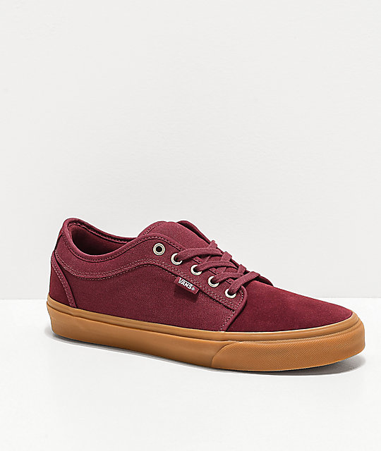 Vans Chukka Low Pro Port Royale & Gum Skate Shoes