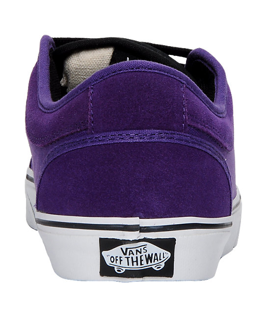 Vans Chukka Low Purple & Black Skate Shoes