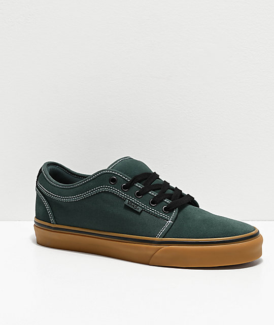 Vans Chukka Low Trekking Green & Black Skate Shoes
