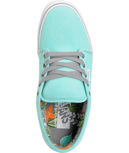 ... Vans Chukka Low Wash Hawaiian Mint Skate Shoes ... 44cf494f9