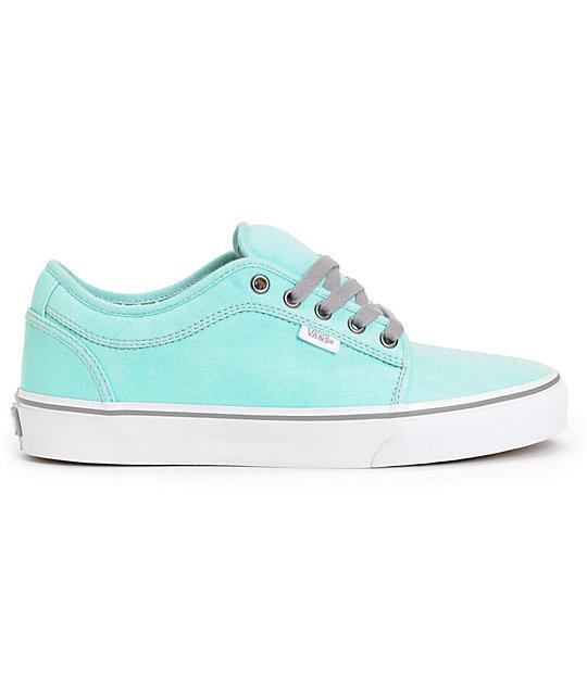 ... Vans Chukka Low Wash Hawaiian Mint Skate Shoes 514ce246f