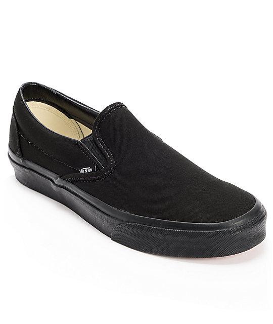 Zapatos negros Vans Authentic para mujer 17XGE