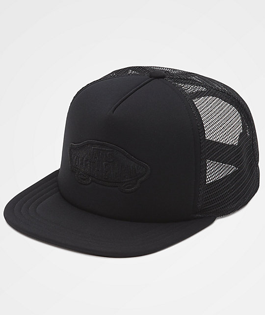 Vans Classic Patch Black Trucker Hat