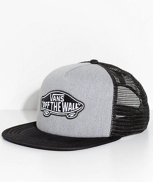 c6c0c1b8e Vans Classic Patch Heather Grey Trucker Hat