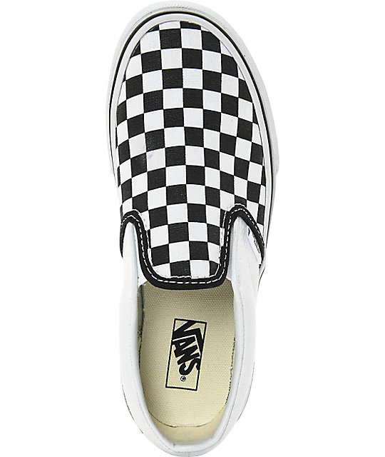 vans classic slip-on skate chaussures noir huh