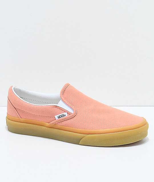 e53b1d86bb Vans Classic Slip On Muted Clay   Gum Shoes