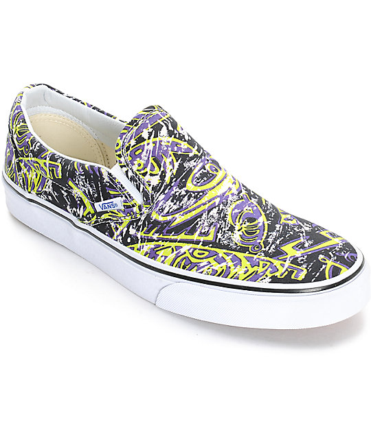 1efe31a866c0 Vans Classic Van Doren Hoffman Mens Slip On Shoes