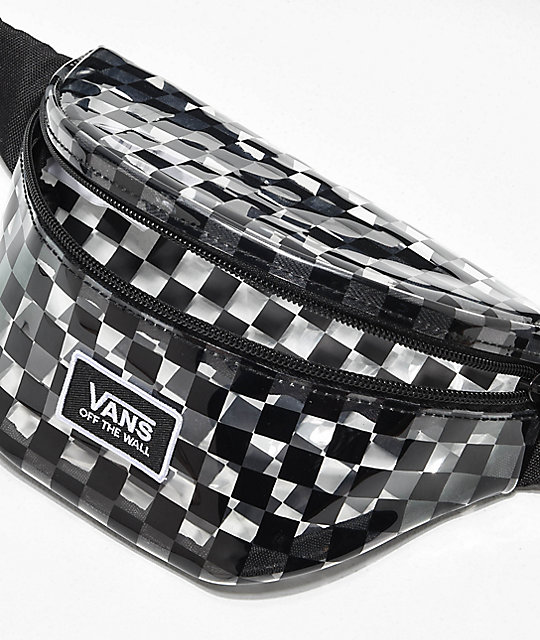 Vans Clear Cut Checkerboard Fanny Pack